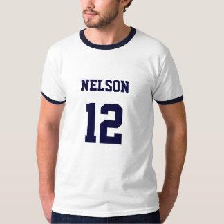 Räkning Nelson för senatt-skjorta Tee Shirt