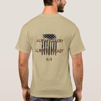 Räkning på skjortan K9 Tee Shirt