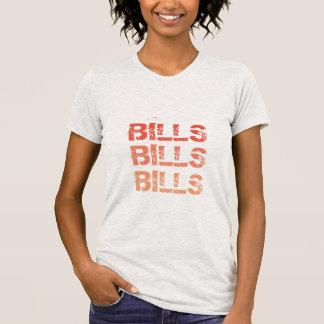 Räkningar räkningar, fakturerar tshirten tshirts