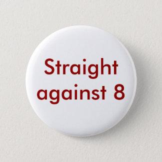 Raksträcka mot 8 standard knapp rund 5.7 cm
