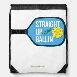 """""""Raksträcka upp den Ballin'""""Pickleball ryggsäcken Gympapåse"""