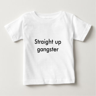 Raksträcka upp gangster t-shirt