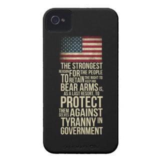 Rakt till björnärmar - Thomas Jefferson Case-Mate iPhone 4 Fodral