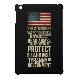 Rakt till björnärmar - Thomas Jefferson citationst iPad Mini Skydd