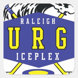 Raleigh IcePlex svallvåg Fyrkantigt Klistermärke