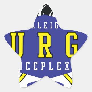 Raleigh IcePlex svallvåg Stjärnformat Klistermärke