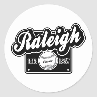 Raleigh klassiker runt klistermärke