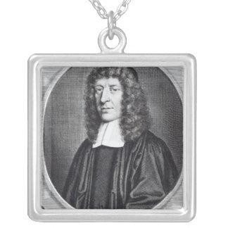 Ralph Cudworth som inristas av George Vertue Silverpläterat Halsband