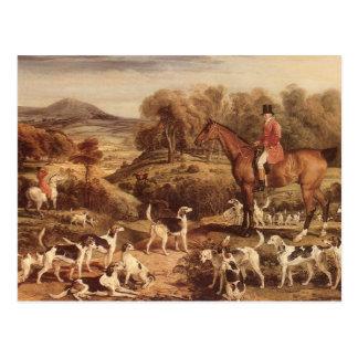 Ralph Lambton och hans hundar av James avvärjer Vykort