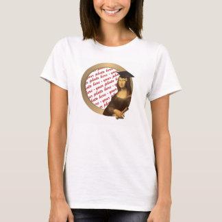 Ram för foto för Mona Lisas studentendag T Shirts