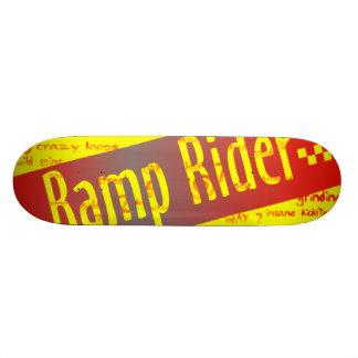 RampryttareSkateboard Mini Skateboard Bräda 18,5 Cm