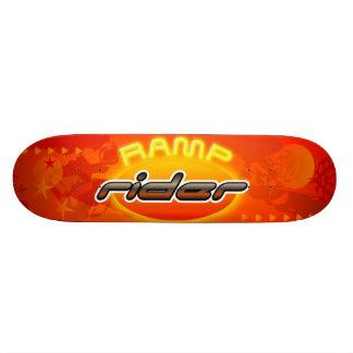 RampryttareSkateboard Skateboard Bräda 21,5 Cm