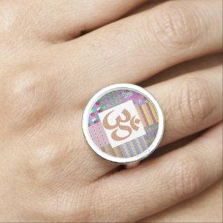Ramsa NVN611 för meditation för OMmantra Om Foto Ring