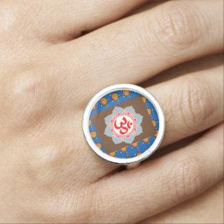 Ramsa NVN612 för meditation för OMmantra Om Ring Med Foto
