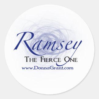 Ramsey Runt Klistermärke