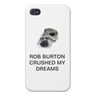 Råna Burton krossade min drömmar iPhone 4 Fodraler