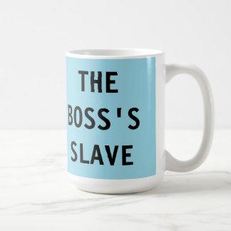 Råna det slav- framstickandet kaffemugg