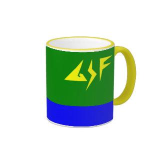Råna för Lieutenant Stjärna Hämta Kaffe Koppar