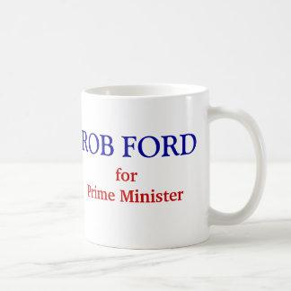 Råna Ford för premiärminister Vit Mugg