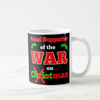 """""""Rånar krig på jul"""" X-Mas (svarten) Kaffemugg"""