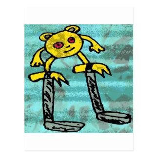 Rånar lite monster #2 vykort