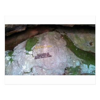 Rånare grottadelstatspark vykort