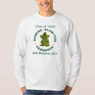 Rancho Alamitos klassificerar av 1975 manar Tee Shirts