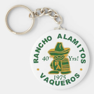 Rancho Alamitos mötenyckelring Rund Nyckelring