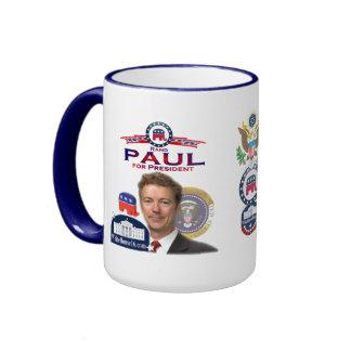 Rand Paul för presidentRingermugg Ringer Mugg