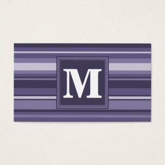 Randar för Monogramljunglilor Visitkort