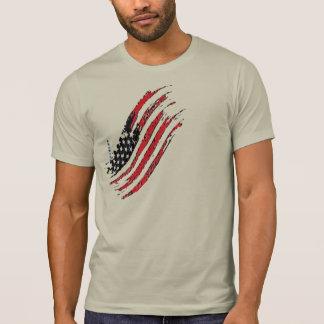 randar för stjärna för flagga för Amerika Tröja