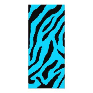 Randar för tiger för Corey tiger80-tal (blått) 10,2 X 23,5 Cm Inbjudningskort