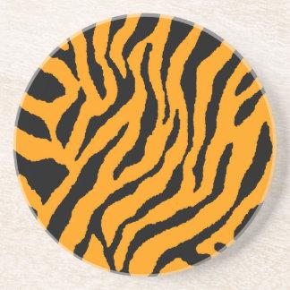 Randar för tiger för Corey tiger80-tal Retro Glasunderlägg