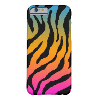 Randar för tiger för neon för Corey tiger80-tal Barely There iPhone 6 Skal