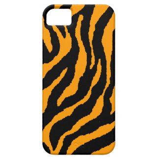 Randar för tiger för neon för Corey tiger80-tal iPhone 5 Case-Mate Fodraler