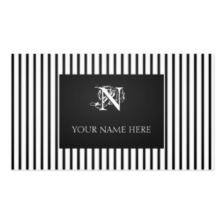 Randar Nouveau Set Av Standard Visitkort