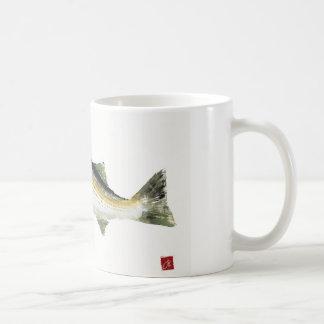 Randig bas kaffemugg