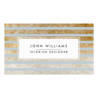 Randig chic för modern yrkesmässig elegant set av standard visitkort