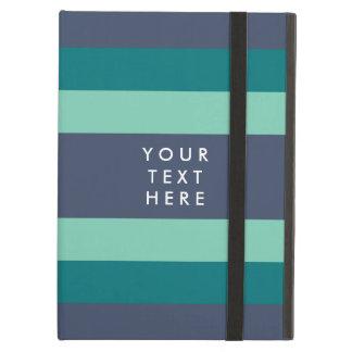 Randig kricka- & blåttanpassningsbar iPad air skydd