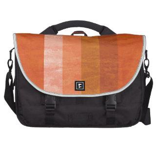 Randig messenger bag för Retro orange Data Väskor