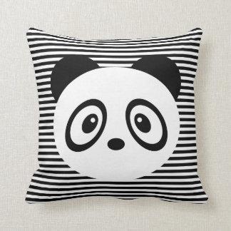 Randig panda kudde