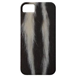 Randig Skunkpäls iPhone 5 Skal