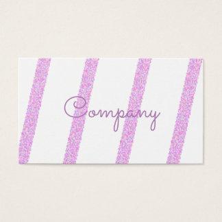 Randiga visitkortar för eleganta rosor visitkort