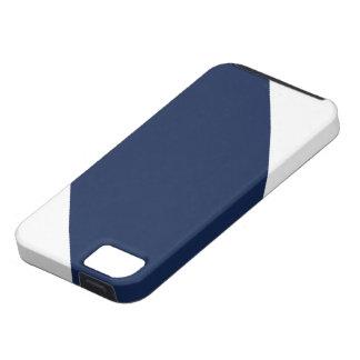 Randigt IPhone 5 fodral för blåttPa