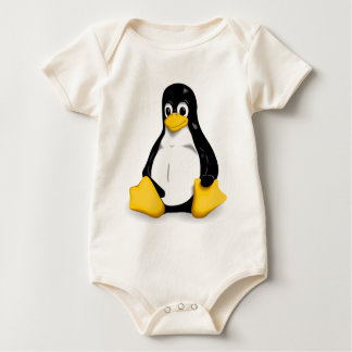 Ranka för baby för LinuxTux organisk Bodies För Bebisar