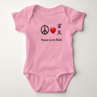 Ranka för fredkärlekReiki baby T Shirt