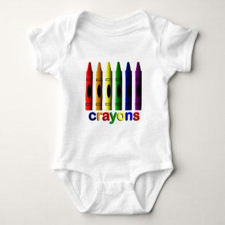 Ranka för spädbarn för Crayonkritorkonstnär Tee Shirt