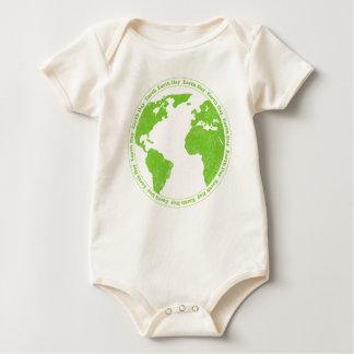 Ranka för spädbarn för Rubber frimärke för jorddag Body För Baby