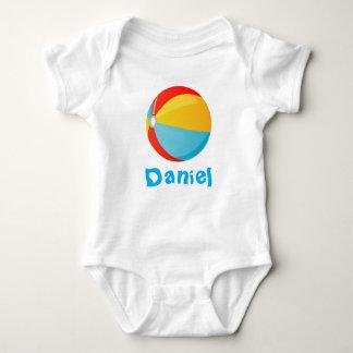 Ranka för strandbollspädbarn t-shirts
