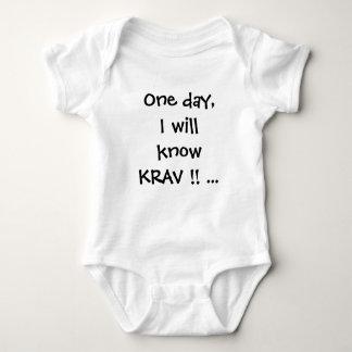 rankan för kravmagabebiset baby-växer tshirten tee shirt
